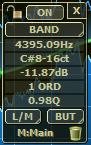 Filterizor 2D 3D multi channel equalizer filter effect audio plug-in VST VST3 AU AAX Free filterinfo