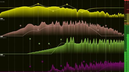 Filterizor 2D 3D multi channel equalizer filter effect audio plug-in VST VST3 AU AAX Free preset manager