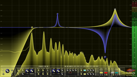 Filterizor 2D 3D multi channel equalizer filter effect audio plug-in VST VST3 AU AAX Free mid side