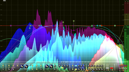 Filterizor 2D 3D multi channel equalizer filter effect audio plug-in VST VST3 AU AAX Free receives