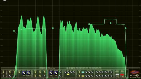 Filterizor 2D 3D multi channel equalizer filter effect audio plug-in VST VST3 AU AAX Free steep