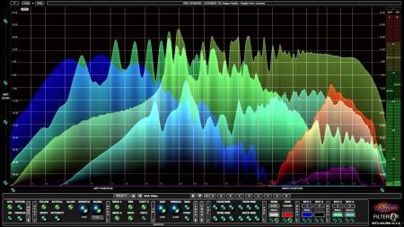 Filterizor 2D 3D multi channel equalizer filter effect audio plug-in VST VST3 AU AAX Free blend