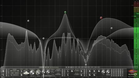 Filterizor - 2D/3D multi channel equalizer filter effect audio plug-in