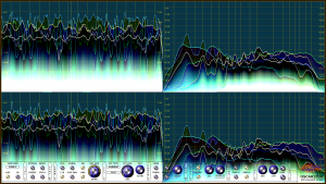 Oscarizor 2D 3D multi channel spectrum analyzer audio plug-in VST VST3 AU AAX Free coloring 2d