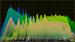 Oscarizor 2D 3D multi channel spectrum analyzer audio plug-in VST VST3 AU AAX Free blendtype1