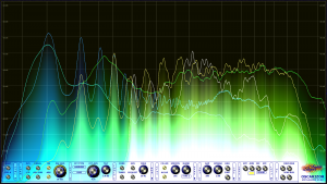 Oscarizor 2D 3D multi channel spectrum analyzer audio plug-in VST VST3 AU AAX Free blend mode 4
