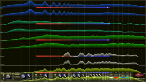 Oscarizor 2D 3D multi channel spectrum analyzer audio plug-in VST VST3 AU AAX Free multi channel correlation meter